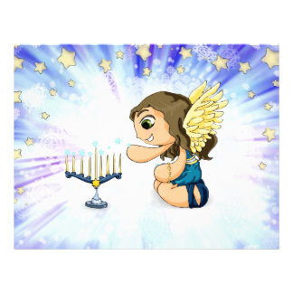 Menorah Angel Letterhead