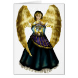 Menorah Angel Stationery Note Card