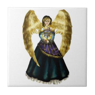 Menorah Angel Tile