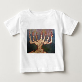 Menorah Baby T-Shirt