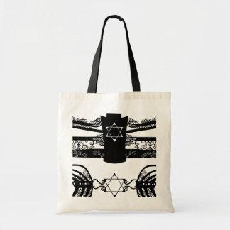 Menorah Budget Tote Bag