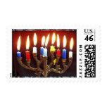 Menorah candles custom postage
