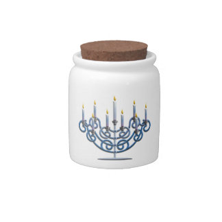 Menorah Candy Dishes