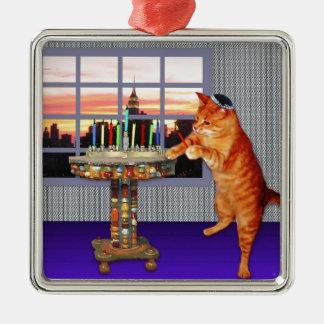 menorah cat.jpg ornaments