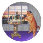menorah cat.jpg party plates