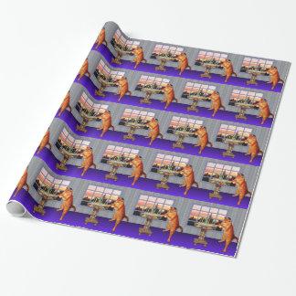 menorah cat.jpg gift wrap paper