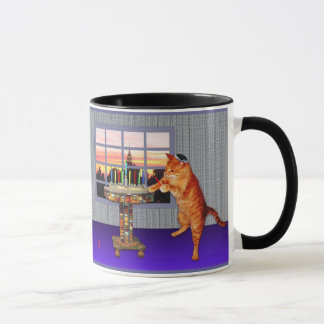 Menorah Cat Mug