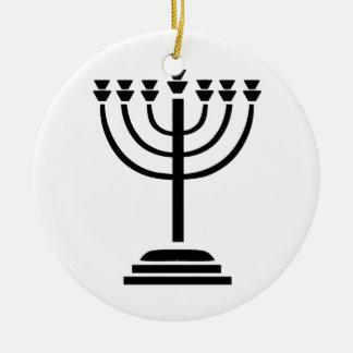 Menorah Ceramic Ornament