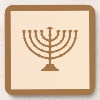 Menorah Coaster