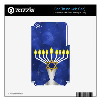 Menorah Decals For iPod Touch 4G