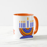 "Menorah Design Hanukkah Gift Mugs<br><div class=""desc"">Happy Hanukkah. Menorah Design Hanukkah Gift Mugs. Matching cards,  postage stamps and other products available in the Jewish Holidays / Hanukkah Category of our store.</div>"