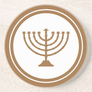 Menorah Drink Coaster