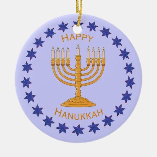 menorah feliz de Jánuca Ornamento Para Reyes Magos