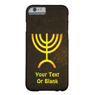 Menorah Flame Barely There iPhone 6 Case