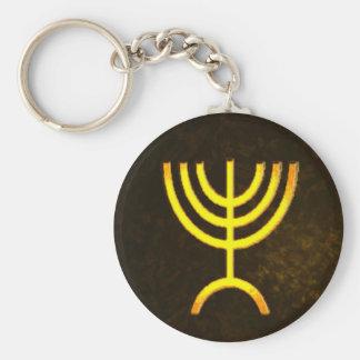 Menorah Flame Keychain