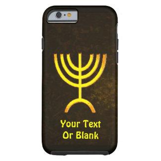 Menorah Flame Tough iPhone 6 Case