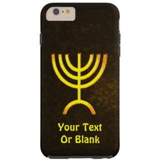 Menorah Flame Tough iPhone 6 Plus Case