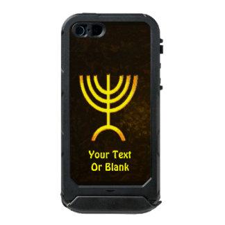 Menorah Flame Waterproof iPhone SE/5/5s Case