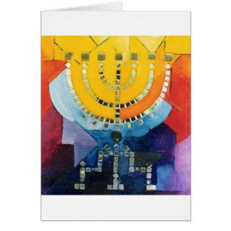 Menorah Greeting Cards