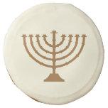 Menorah   Hanukkah Celebration Sugar Cookie