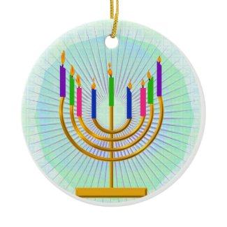 Menorah Keepsake Ornament ornament