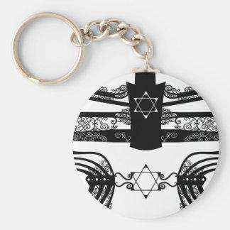 Menorah Key Chain