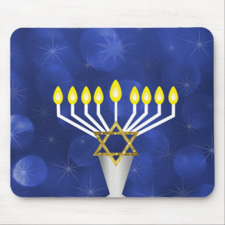 Menorah Mouse Pad