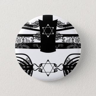Menorah Pinback Button