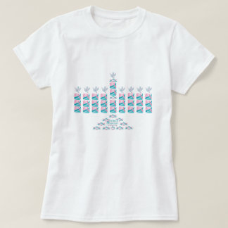 MENORAH-Pink & Teal! T-Shirt