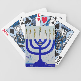 Menorah Playing Cards