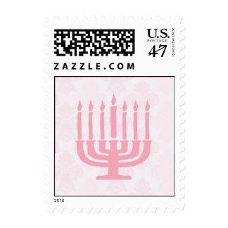 Menorah postage