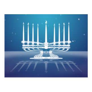 Menorah Postcard