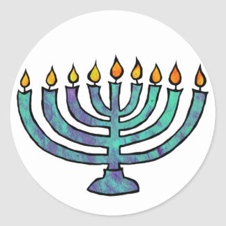 Menorah Stickers