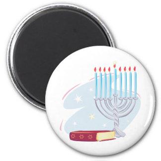 Menorah Torah Magnet