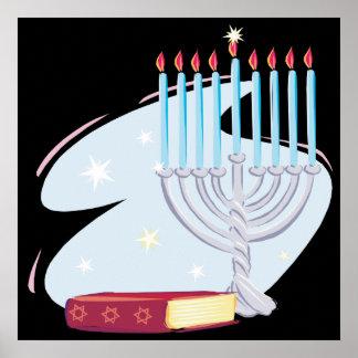 Menorah Torah Impresiones