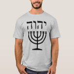 "Menorah Tshirt<br><div class=""desc"">Think not that I am come to destroy the Torah, or the prophets: I am not come to destroy, but to uphold. For verily I say unto you, Till heaven and earth pass, one yud or one tittle shall in no wise pass from the Torah, till all be fulfilled. Whosoever...</div>"
