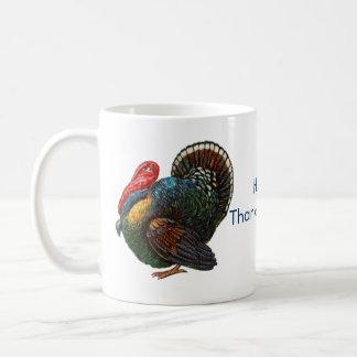 Menorah y taza de café de Turquía Thanksgivukkah