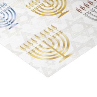 """Menorahs & Stars Of David - Tissue Paper 10"""" X 15"""" Tissue Paper"""
