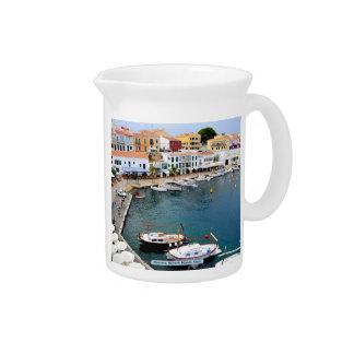 Menorca, Balearic Islands, Spain Drink Pitcher