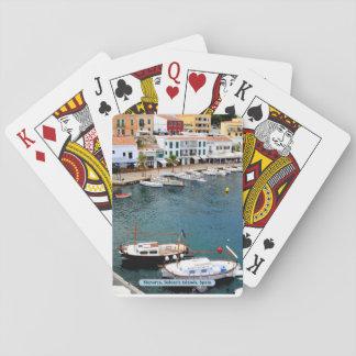 Menorca, Balearic Islands, Spain Poker Deck