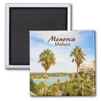 Menorca Mahon Souvenir Magnet