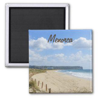 Menorca Son Bou Beach Souvenir 2 Inch Square Magnet