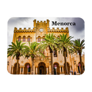 Menorca Townhall of Ciutadella Souvenir Magnet