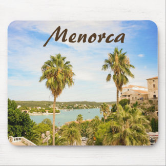 Menorca View to the Habor of Mahon Mousepad