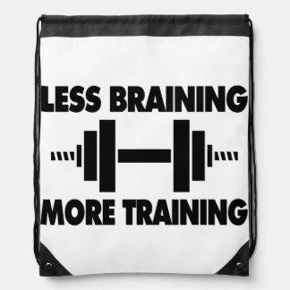Menos Braining más entrenamiento