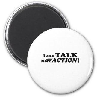 Menos charla más productos de Mutiple de la acción Imán Redondo 5 Cm