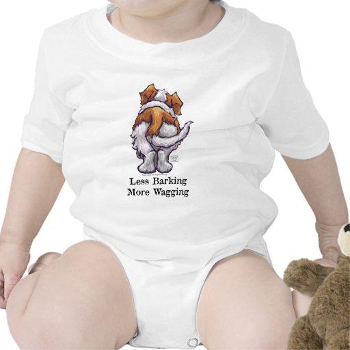 Menos descortezamiento, meneando trajes de bebé