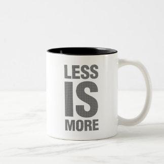 Menos es más taza