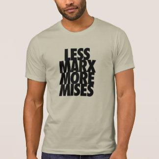 Menos Marx más Mises Camiseta