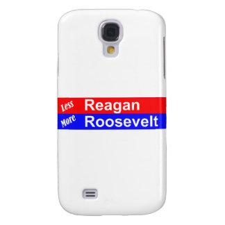 Menos Reagan más Roosevelt horizontal Funda Para Galaxy S4